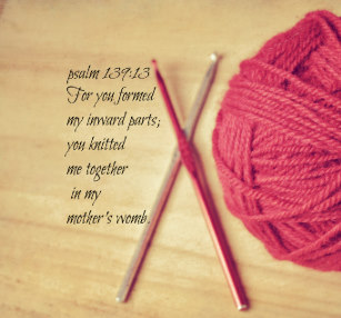 Two Talks on Knitting