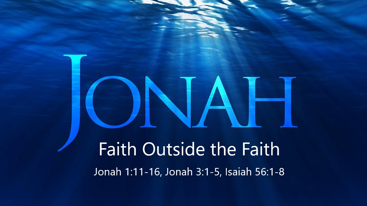Faith Outside the Faith