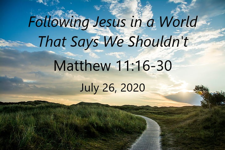 Following Jesus in a World That Says We Shouldn't