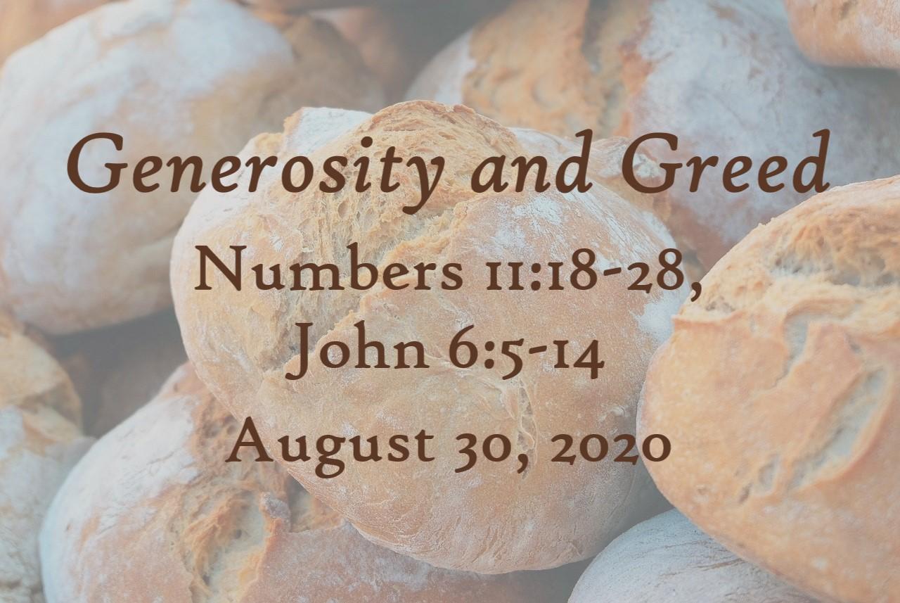Generosity and Greed