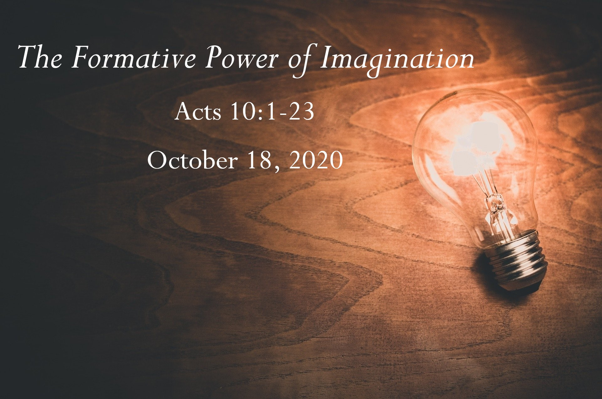 The Formative Power of Imagination